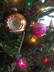Christmas ornaments, which tend to be saved for nostalgia's sake, may be the only mid-century items a family keeps year after year.