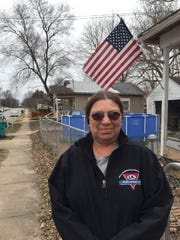 Deanna Fischer, 53, has lived on New Avenue since she