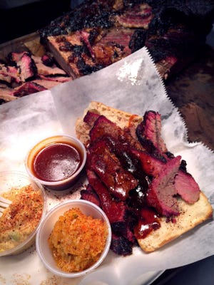 Beef brisket from the Rendezvous.
