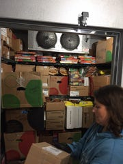 Henrietta and Penfield Target stores lost power on Wednesday and donated truckloads of food to local homeless shelters