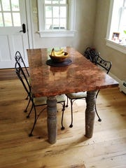 Table made by John Grieco.