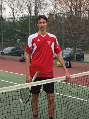 Glen Rock's Joe Shulkin almost left tennis, but now he has made the Record's all-NJIC team.