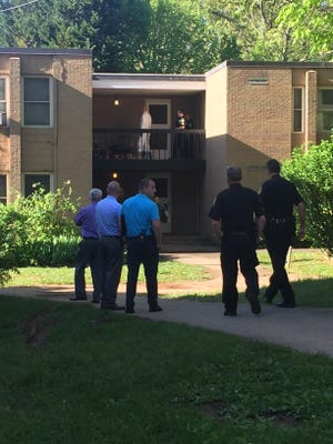 Asheville Police are investigating after a report that three people were found dead in an apartment.
