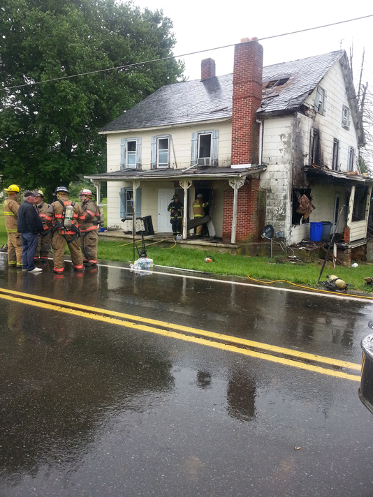 Graceton Road fire