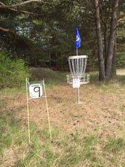 Disc golf in Jacksonport