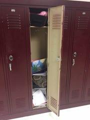 Locker, Shelburne Middle School, Staunton, Va.