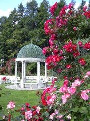The Lyndhurst Rose Garden