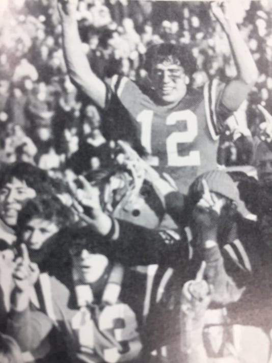 Pleasant 1972 state football championship celebration