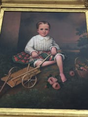 This memento mori portrait of 3-year-old Willie Guild
