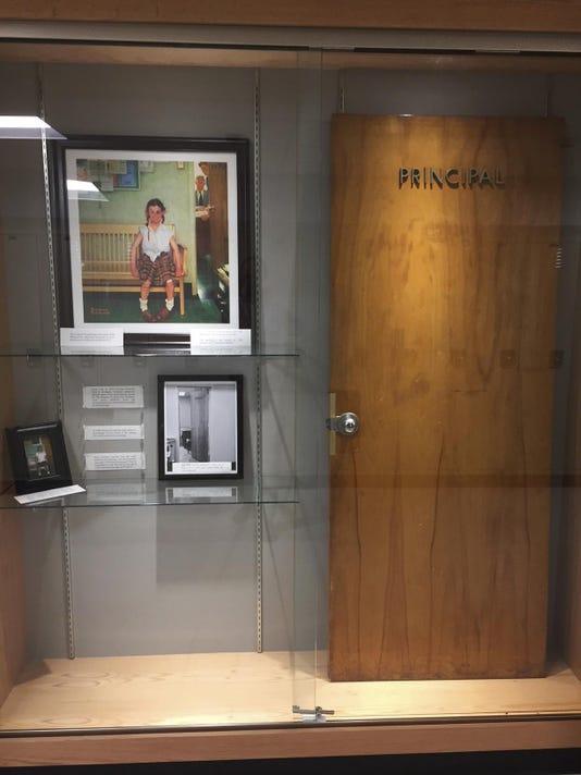 Rockwell Painting Principals Door