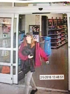 The San Angelo Police Department have released an image of a person wanted in connection with a hit and run. Feb. 5, 2018