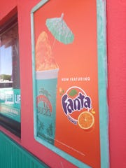 Bahama Buck's is offering a new seasonal flavor - Fanta orange Sno.