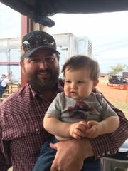 Colton Daniel, whose family owns the Circle Bar Ranch,