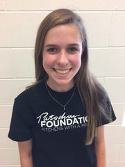Madelyn Filer, 14, is the youngest ambassador for the Patachou Foundation's Kitchens with a Mission meal program.