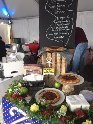 Zallie's Catering celebrated a Jersey Summer last year at A Taste of South Jersey.