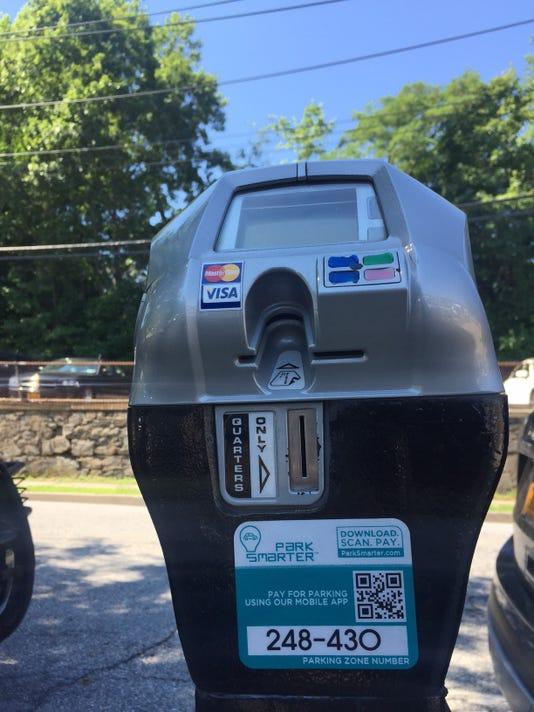Parking by app in Peekskill