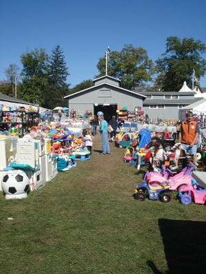 The VNA Rummage Sale returns to the Far Hills Fairgrounds on Friday, Saturday and Sunday, May 3, 4 and 5. ~File photo