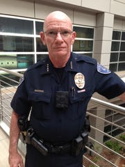 Gilbert Police Chief with body camera