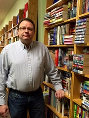 Bill Cochran will be the first Walls of Books franchise owner to operate above the Mason-Dixon line.
