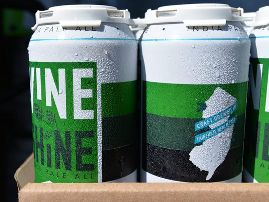 Magnify Brewing's staple IPA, Vine Shine.