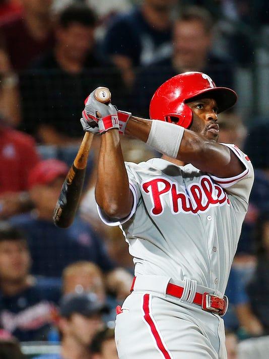 Phillies Braves Baseball (2)