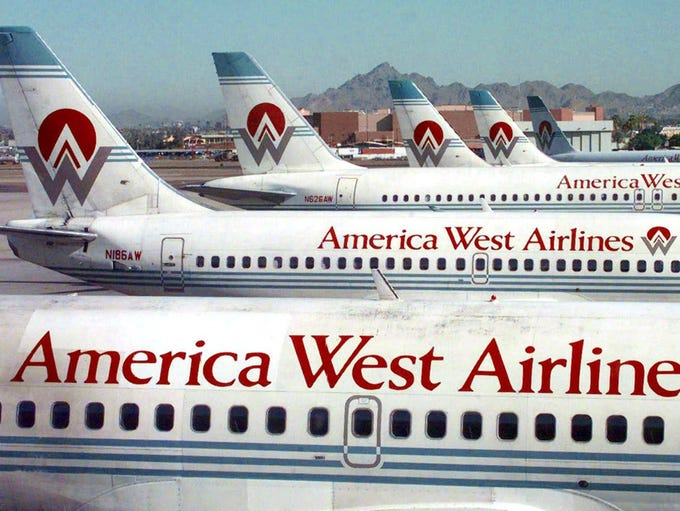1983: America West Airlines, based in Tempe and led
