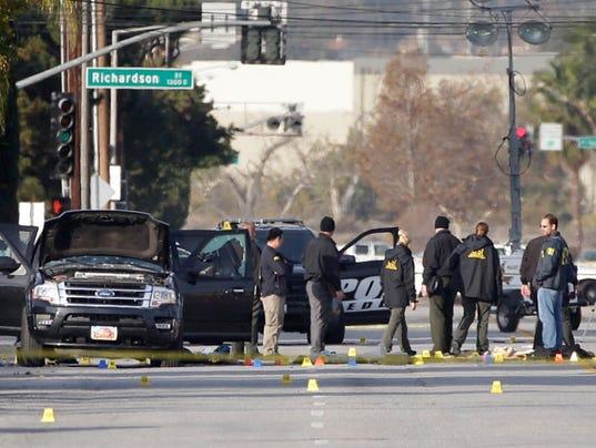 AP CALIFORNIA SHOOTINGS DIVERSE RECRUITS A FILE USA CA