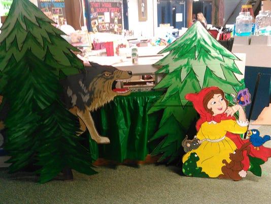 Stayton Middle School book fair