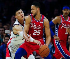 Not giving up his shot: Ben Simmons' jumper could lift 76ers