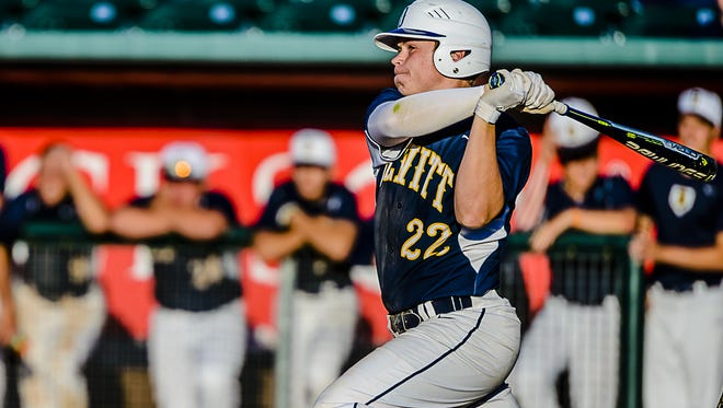 Senior Michael Stygles recently became DeWitt's career hits leader. He has been an instrumental part of the success for the Division 2 No. 5-ranked Panthers this spring.