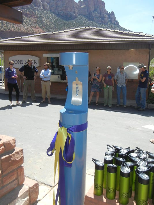Zion Canyon Rotary-water stations