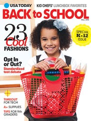 USA TODAY Back to School magazine will be on newsstands