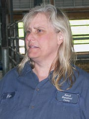 Kim Landt -- dairy herd manager at Habeck Homestead