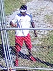The offender, who is believed to be from the neighborhood,