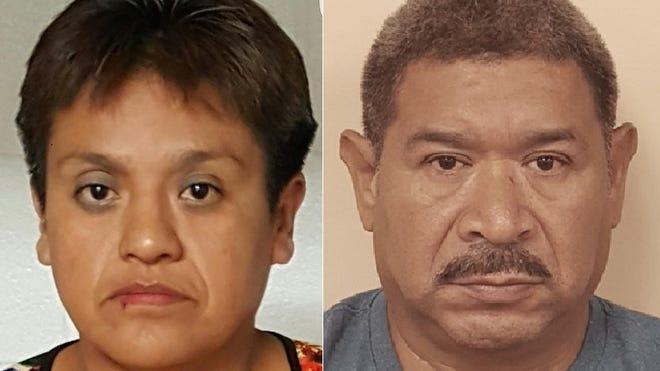Esperanza Mani-Cortez, 44, of Philadelphia, and Alfredo Rosales, 51, of Englewood.