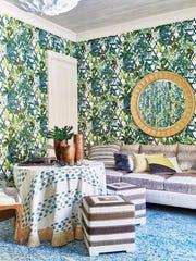 Cabana suite designed by Toledo Geller in Englewood