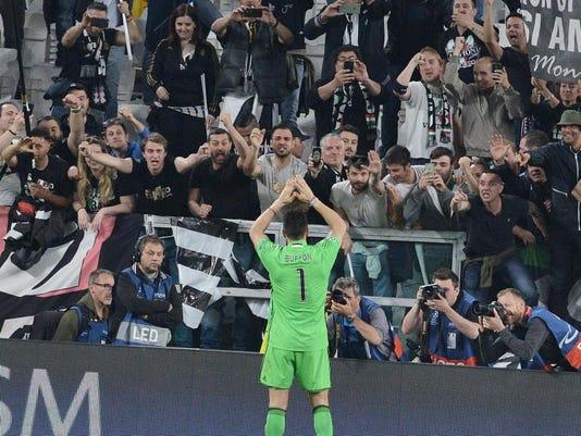 EPA ITALY SOCCER UEFA CHAMPIONS LEAGUE SPO SOCCER ITA