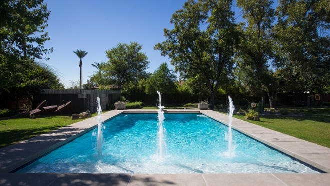 Pools on the properties of homes worth more than $1 milllion are the ones that tend to retain their value from what the owner paid.