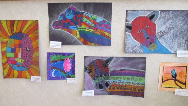 March is National Youth Art Month. If you are in the Spencer Library, the Tioga State Bank main office or McAnn's Restaurant, you will see some vibrant, colorful art on the walls by our Spencer Van Etten students.