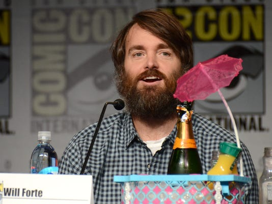 """AP 2015 COMIC-CON - """"THE LAST MAN ON EARTH"""" PANEL AND PRESS LINE A ENT USA CA"""
