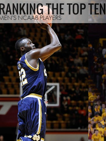 Notre Dame's Jerian Grant and Utah's Delon Wright fall