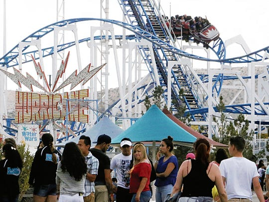 Western Playland will be open for Spring Break in Sunland Park, N.M.