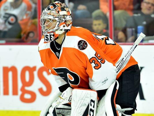NHL: Arizona Coyotes at Philadelphia Flyers