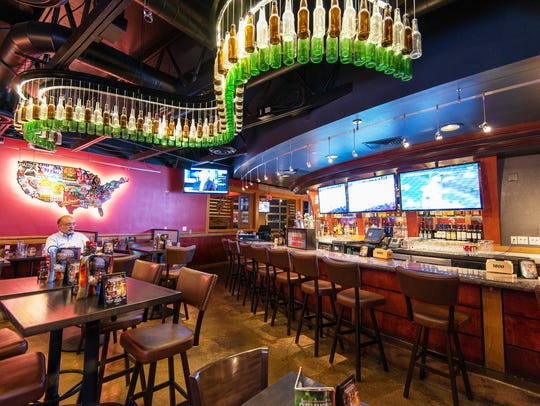 Red Robin is remodeling its restaurants with a bar