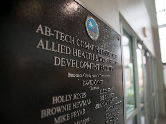 The Ferguson Center for Allied Health and Workforce Development, opened in 2016 on the Asheville-Buncombe Technical Community College, was funded by quarter-cent sales tax revenue. Buncombe County staff has presented a proposal that would use the revenue to fund operations and maintenance, despite initial promises to voters that the tax was meant to pay for new construction at A-B Tech and nothing more.