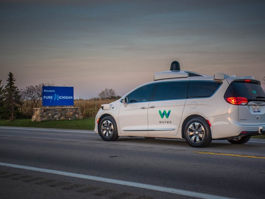 Waymo plans to test its self-driving Chrysler Pacifica
