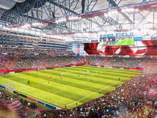 Hosting Detroit soccer at Ford Field replaces previous