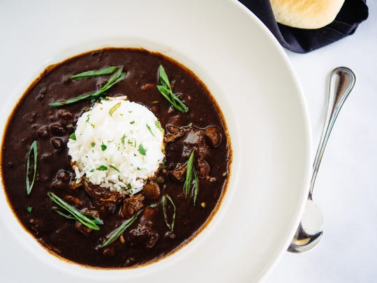 Smoked Duck and Andouille Gumbo