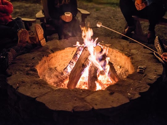 Firelight Camps near Ithaca, NY, provide an authentic