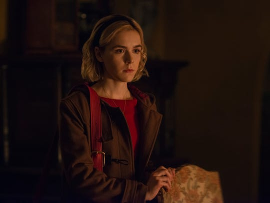 Kiernan Shipka flexes her witchy powers as Sabrina
